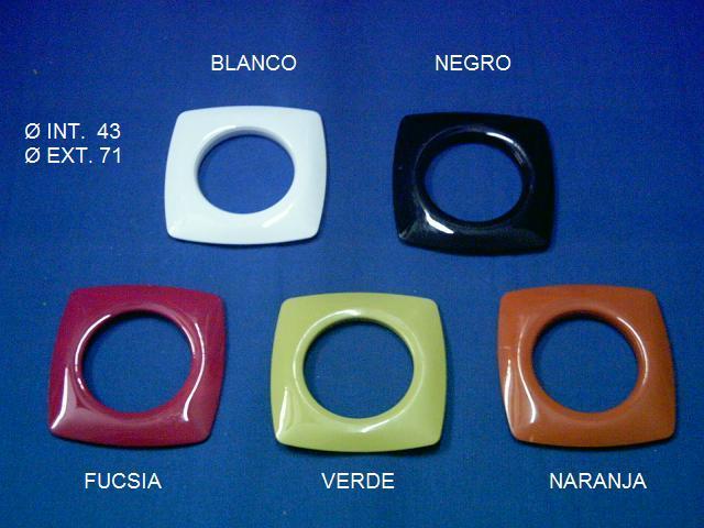Ollaos cuadrados colores