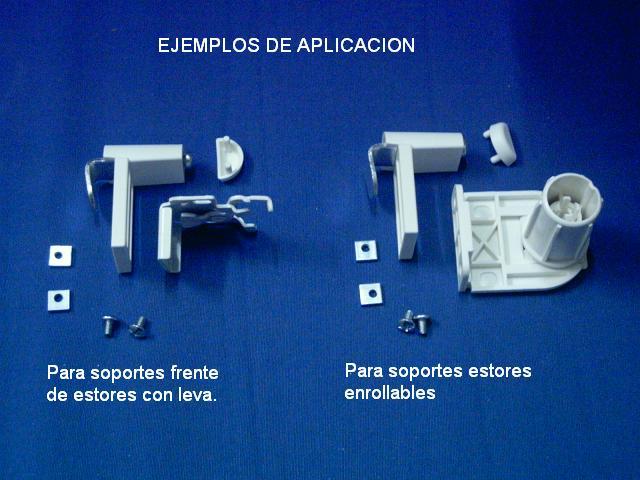 Soportes ventana frente, aplicaciones