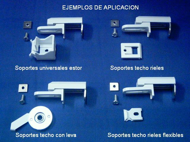 Soporte universal superior, aplicaciones