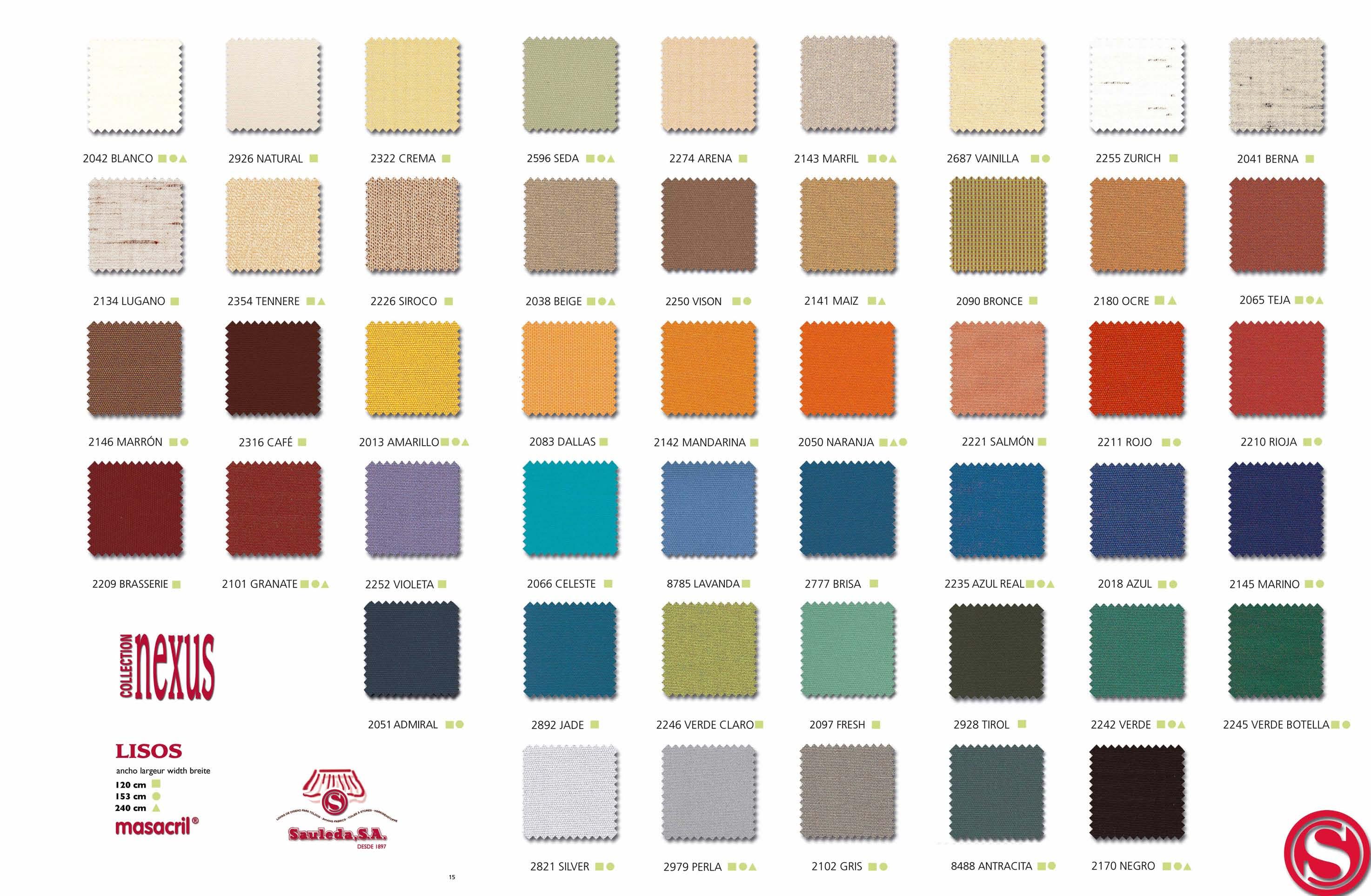 Toldo cortina para exterior - Colores de toldos ...